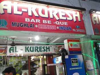 Al-Kuresh at Yashwant Place offers good kebabs