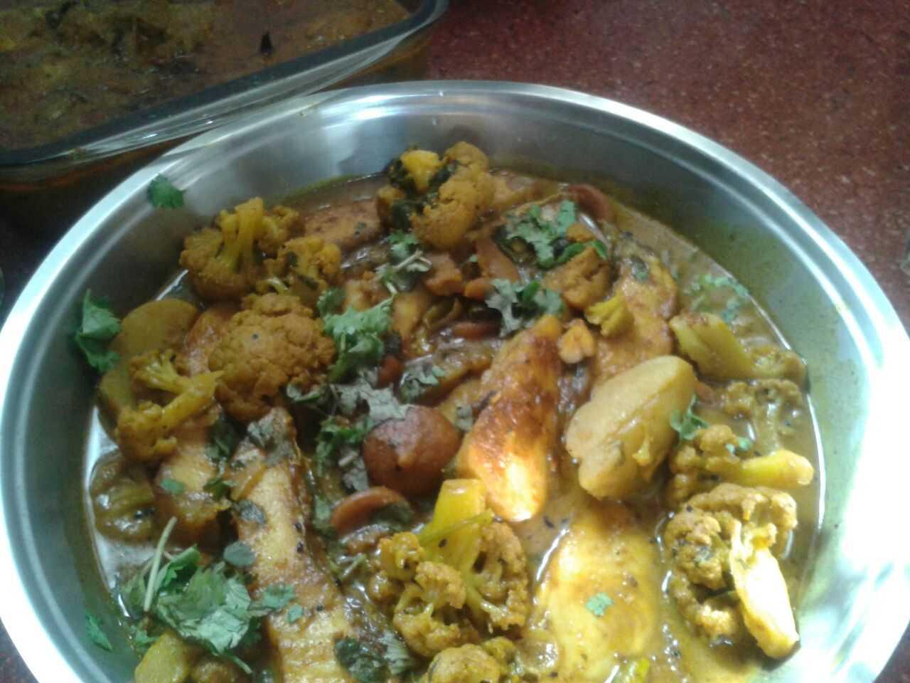 Bengali-style mixed veggies-Ambika Sukumar-fnbworld