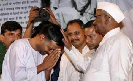 Anna Hazare-Arvind Kejriwal-fnbworld