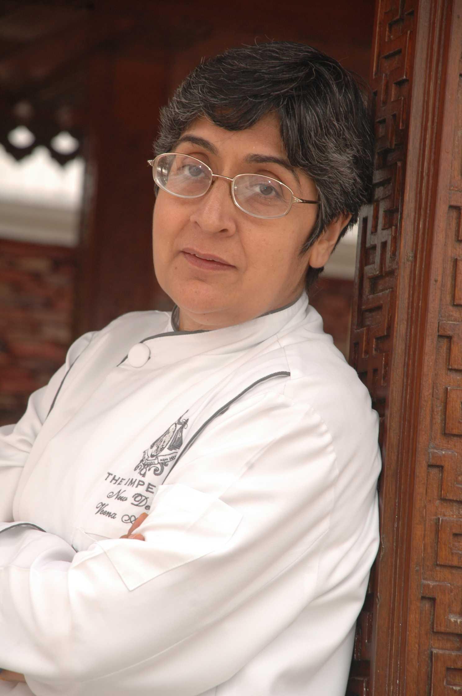 Chef Veena Arora, The Imperial, New Delhi