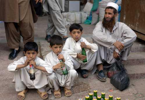 A family enjoying their cold beverages - jaya verma-fnbworld