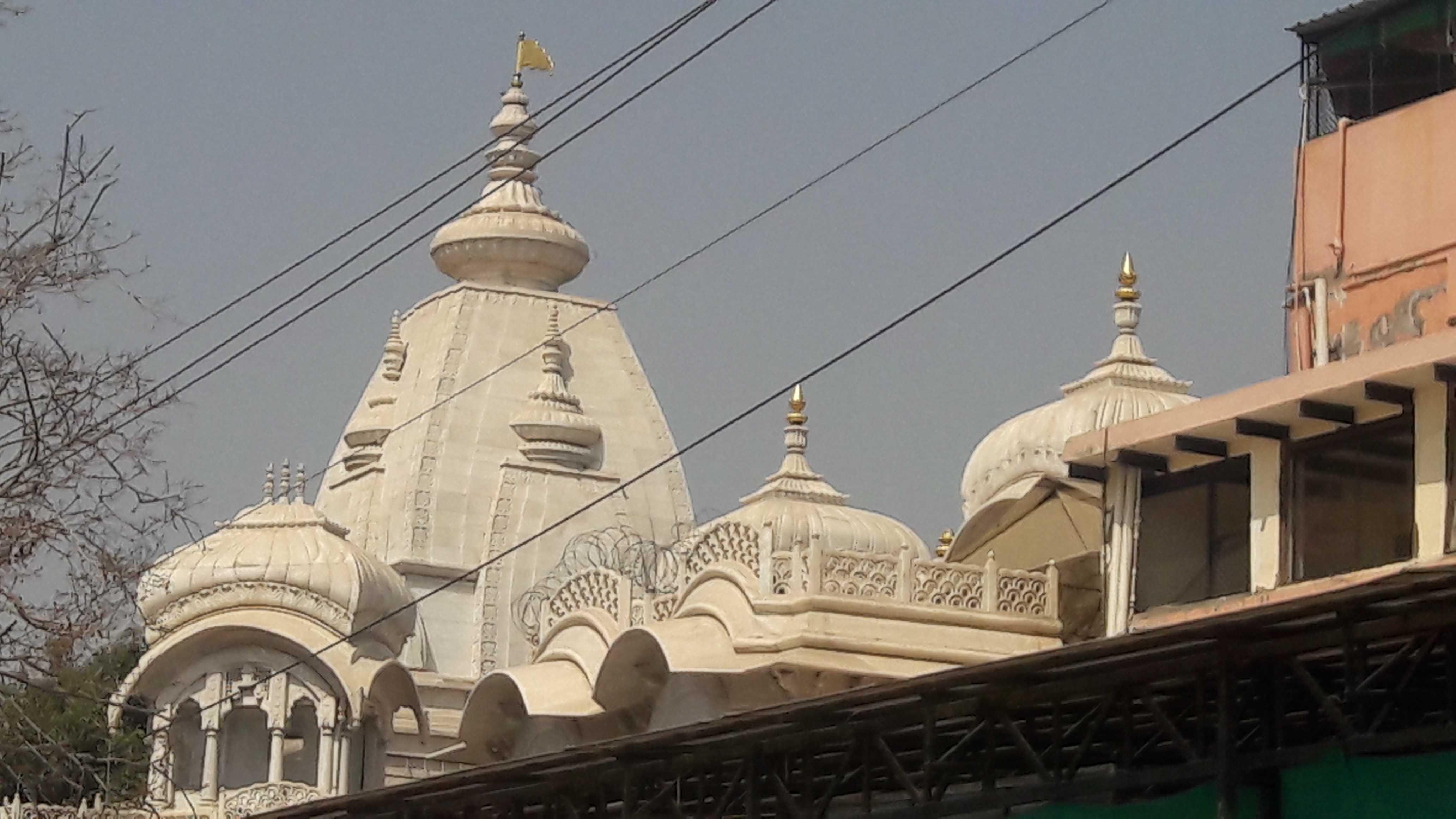 The famous Iskcon temple-vrindavan-fnbworld