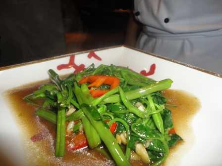 Greens in fish sauce-fnbworld