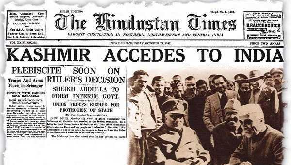 Kashmir accession-fnbworld