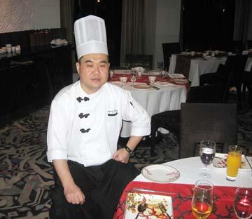 Chef Wang Bing of Shangri La Hotel