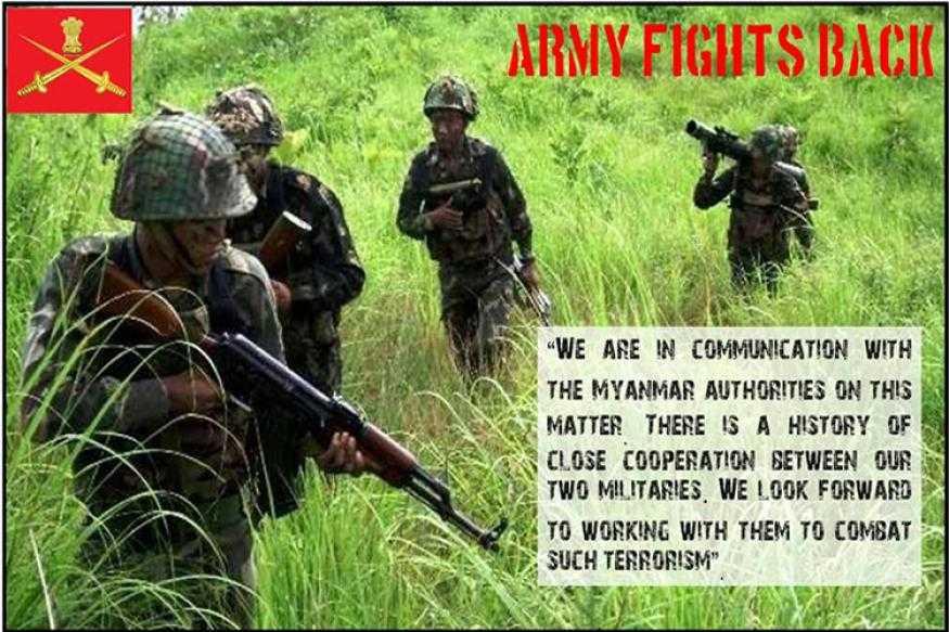 Indian Army in ambush formation-fnbworld