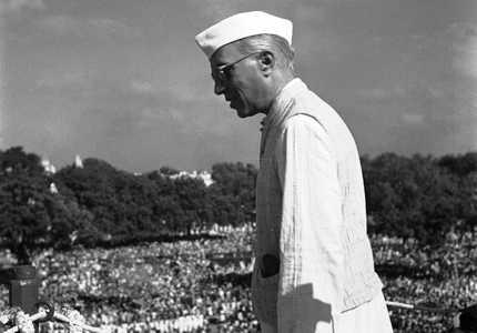 Jawaharlal cNehru in 1947