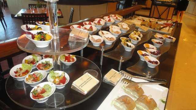 desserts at Kafe Fontana