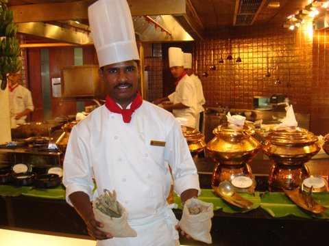 Chef Muthu from Kerala