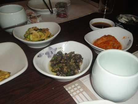 Korean food: Dips and sauces