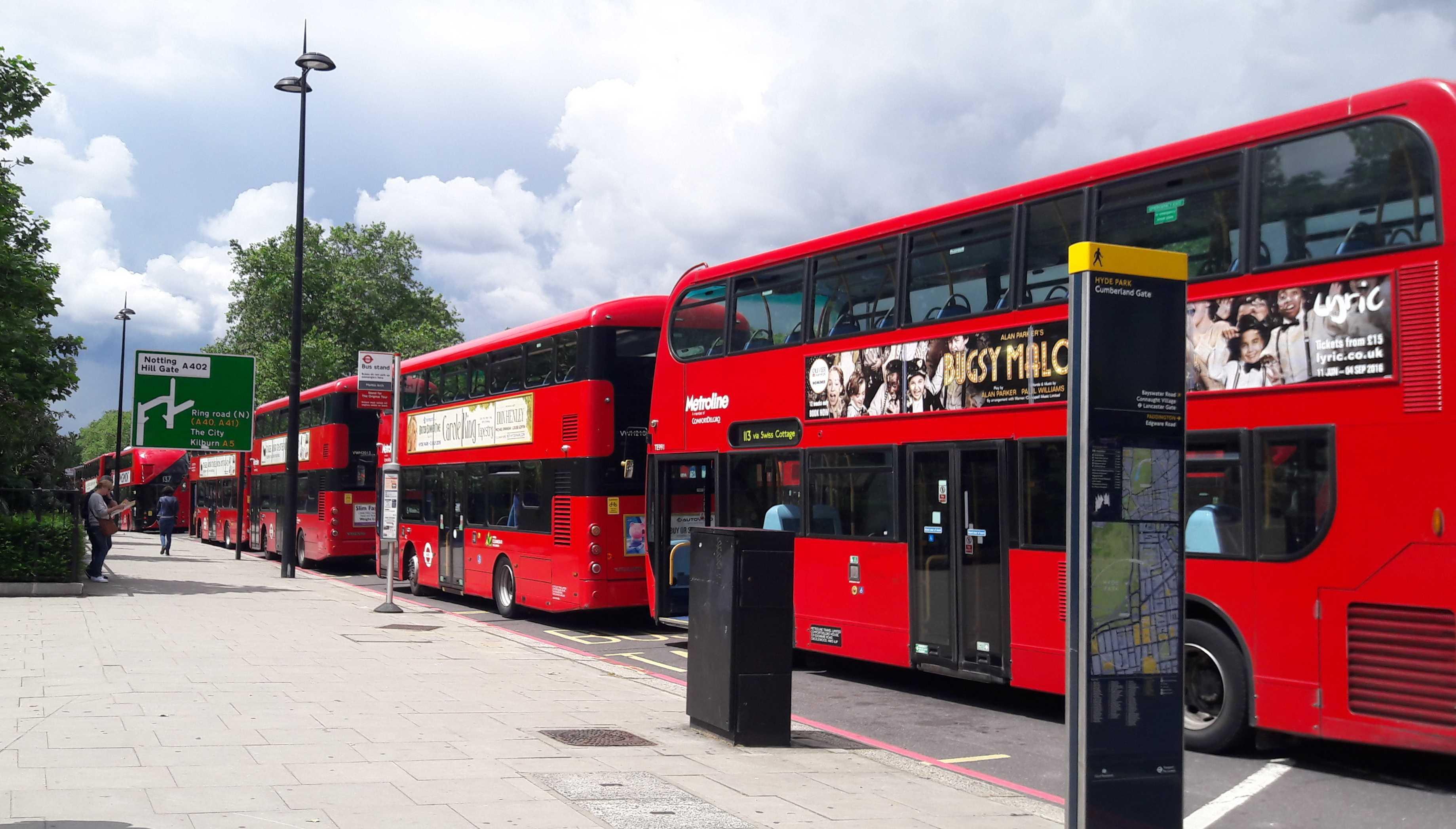 Famous London Buses-fnbworld