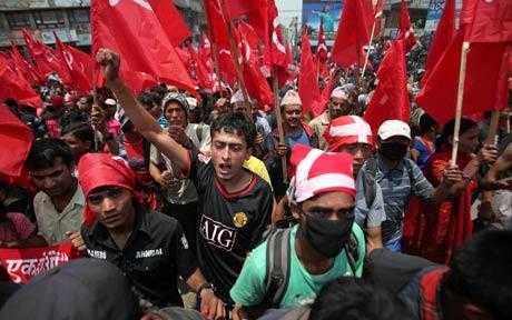 Maoists in Nepal-AP photo