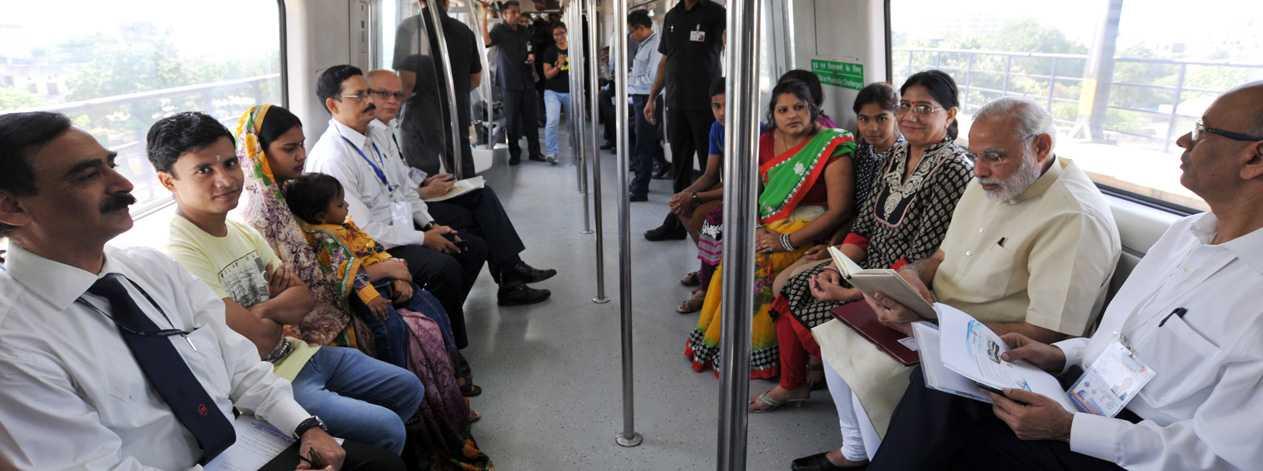 Metro and PM Modi-fnbworldd