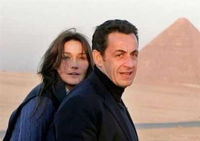 Macho Prez Sarkozy with Carla  Bruni