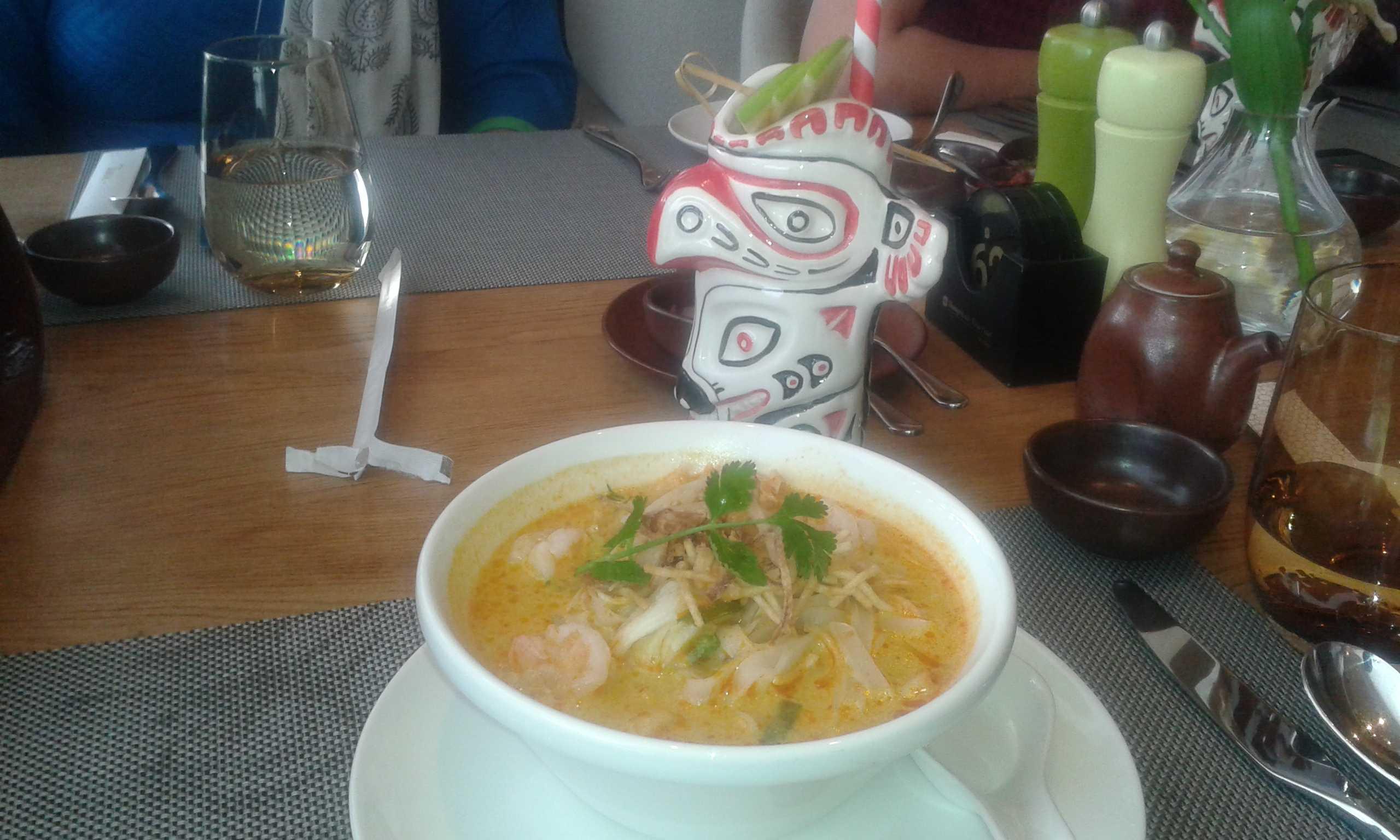 Tamra prawn soup-fnbworld