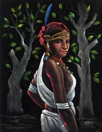 Tribal-Santhal-woman-fnbworld