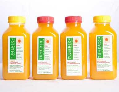 packaged turmeric juice