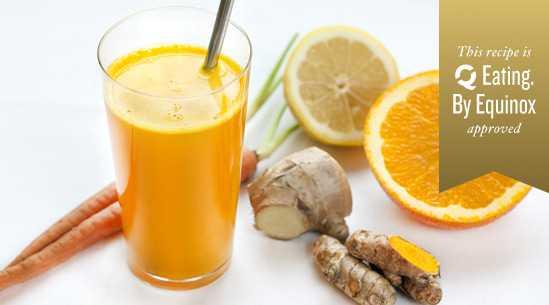 turmeric juice is health juice