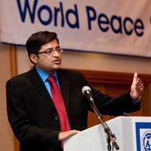 Arnab Goswami-peace-fnbworld