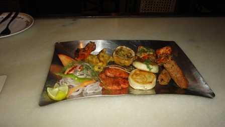 Kebabs platter