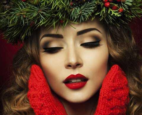 Christmas Party Makeup
