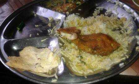 Fish-thali-Kalibari Temple canteen-CR Park