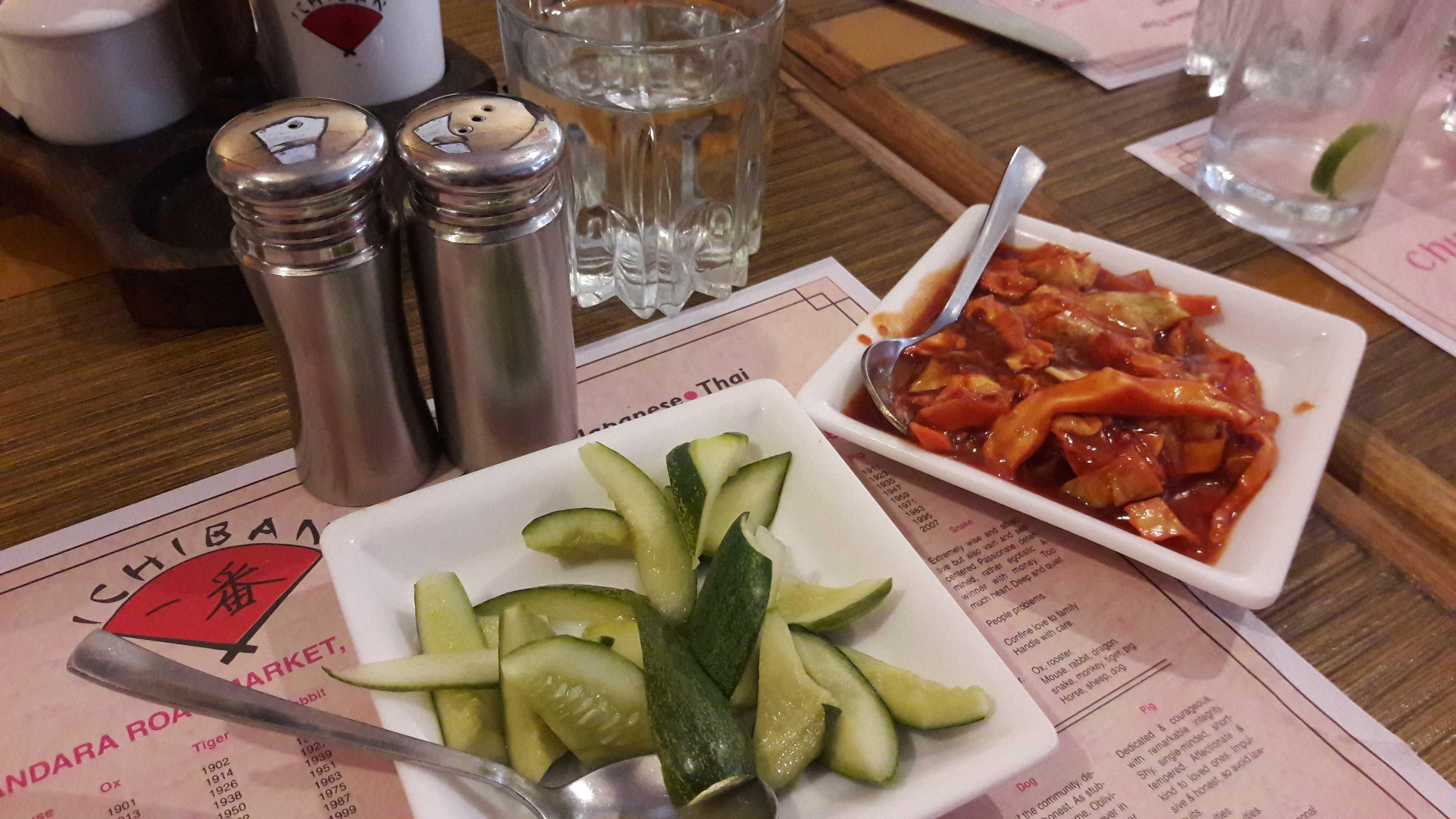 Dining at Ichiban