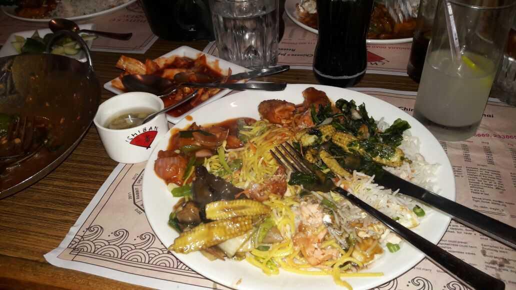 Plateful at Ichiban