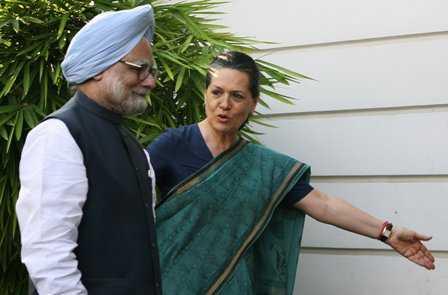 Manmohan Singh and Sonia Gandhi - fnbworld