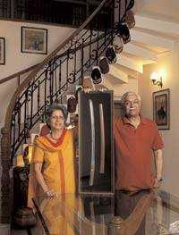 Vijay Oberoi and his wife-fnbworld
