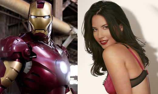 Olivia Munn with Iron Man - 2