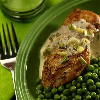 chicken in rosemary sauce