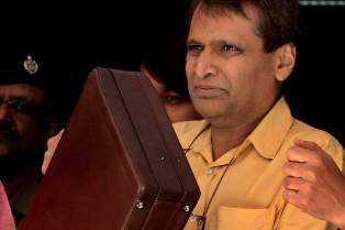 Suresh Prabhu- Railway Minister