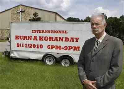 Pastor Terry Jones of Florida
