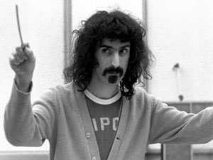 Frank Zappa conducting - ravi v chhabra