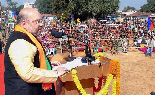 Amit Shah - Rally in Kolkatta-fnbworld