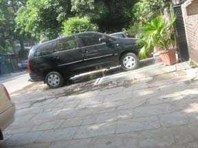 Anil Sachdeva:  Rambo style parking