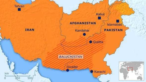 Map of Balochistan - fnbworld