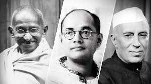 Bose-Gandhi-Nehru-fnbworld