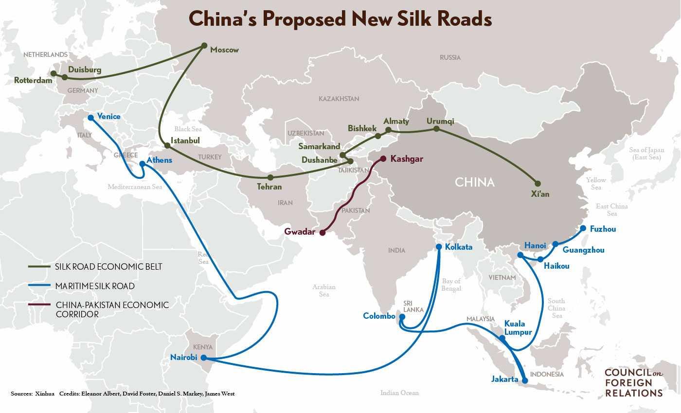China's silk roads-rajan grover-fnbworld