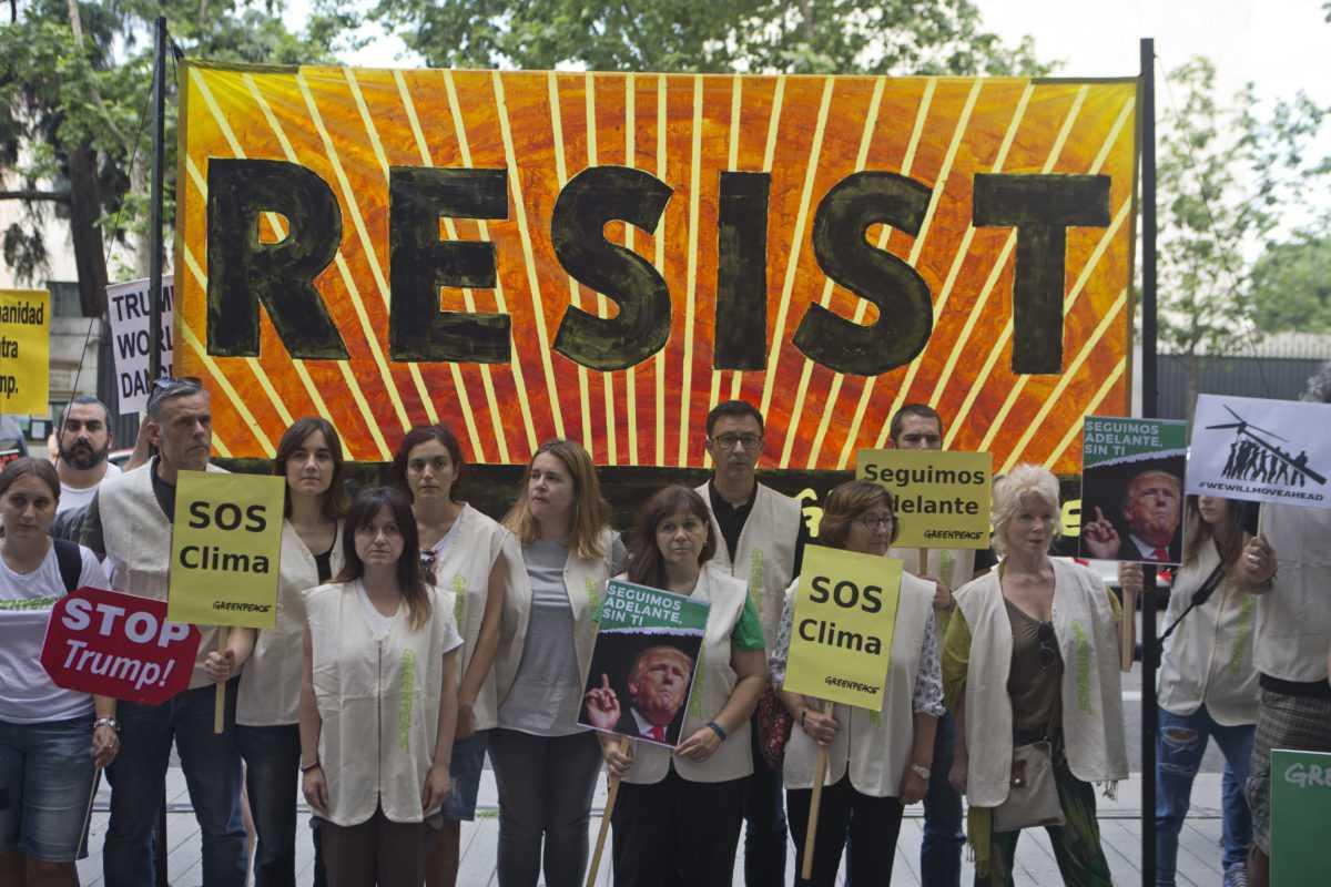 Climate activists-fnbworld