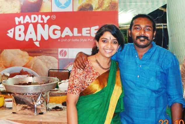 Deepa Lakshmi and Amit-Madly Bangalee-fnbworld