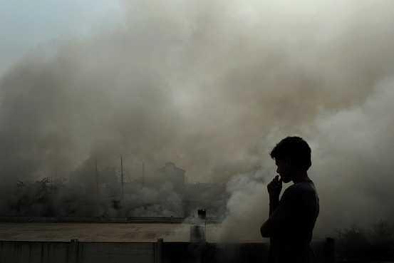 Delhi air pollution-fnbworld