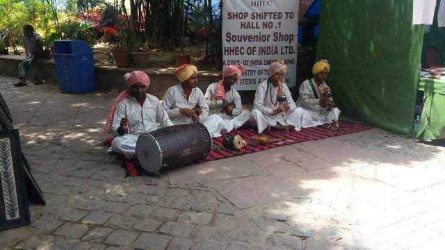 Dhol and Been players-fnbworld-Chaitali Aggarwal