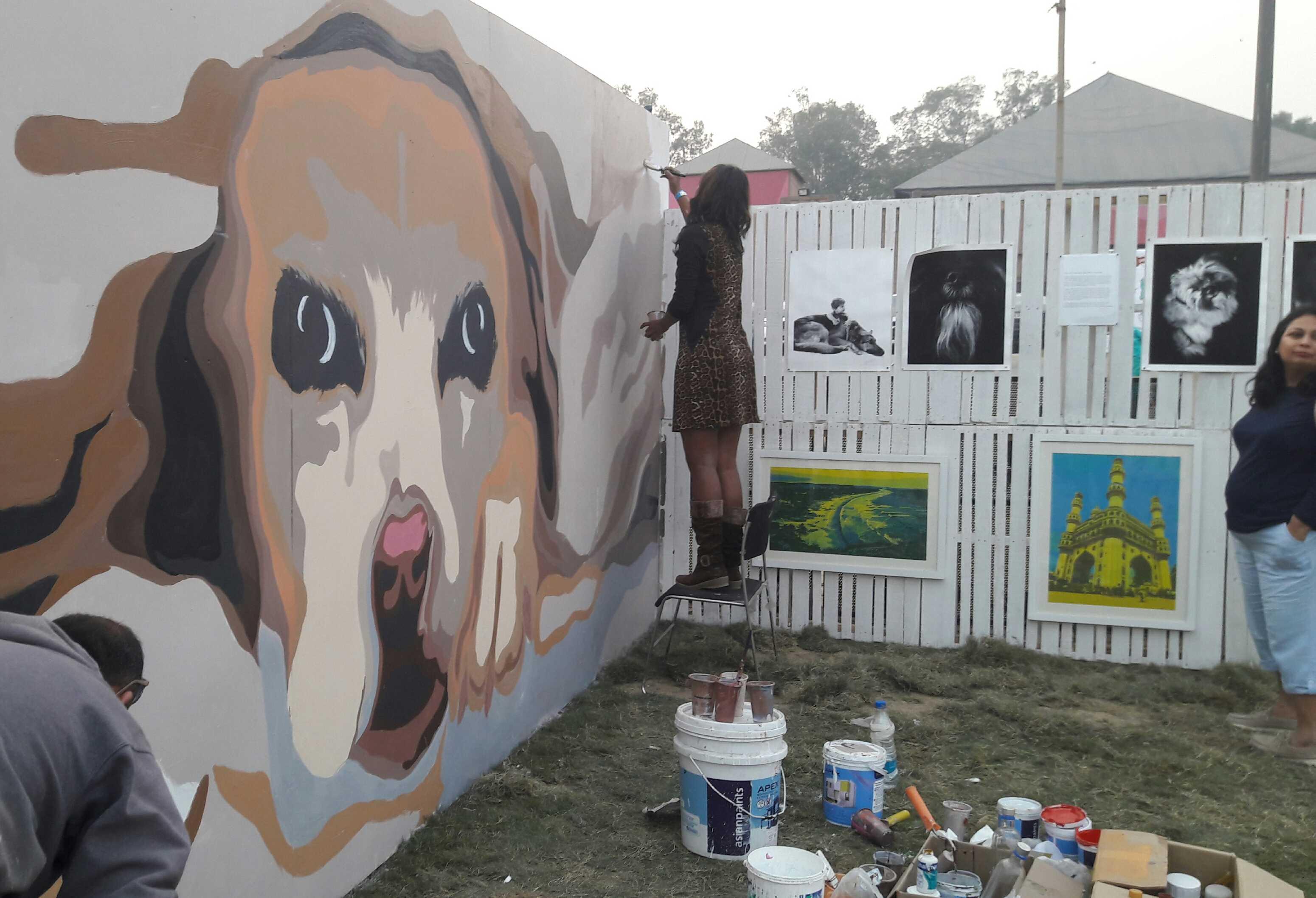 Dogs art gallery-fnbworld-ridhi chhabra