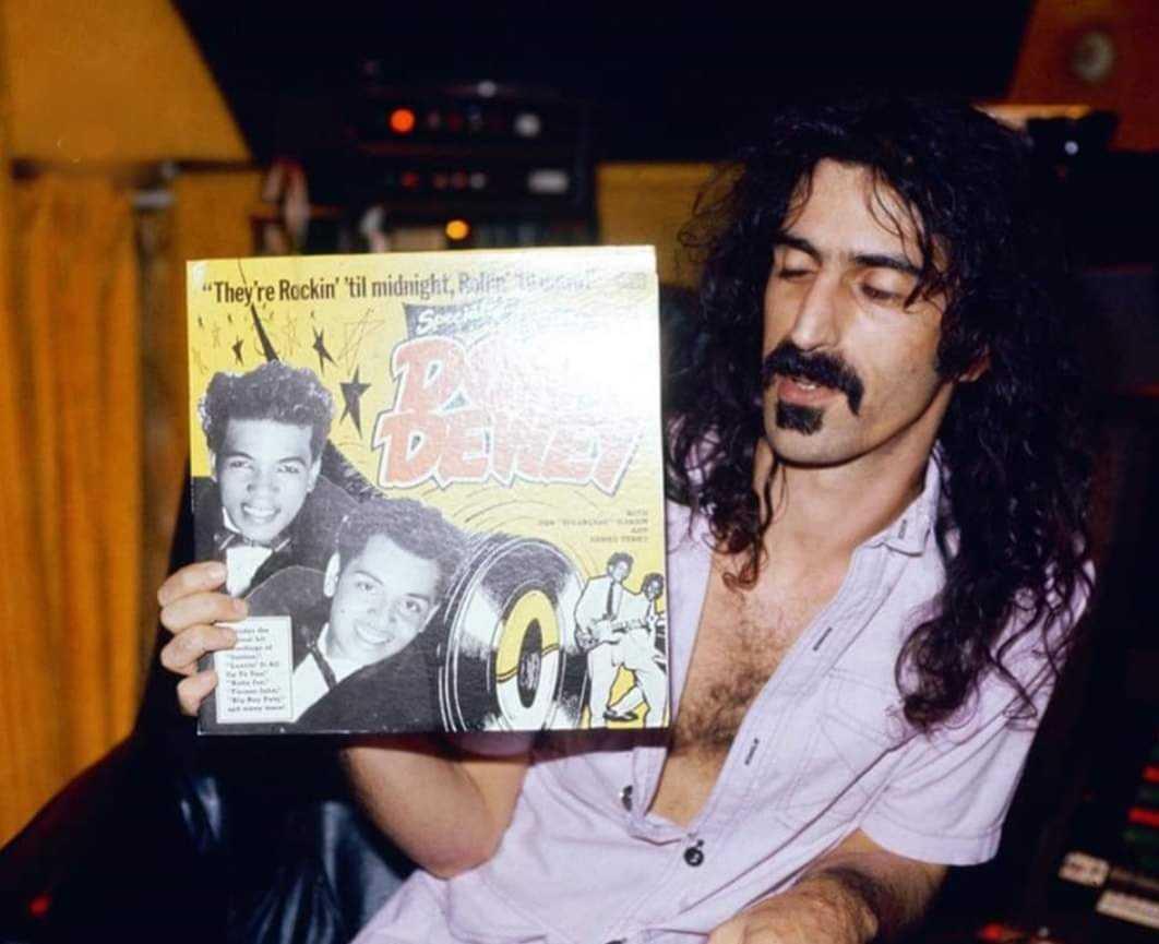 Don Sugarcane Harris-Frank Zappa-Ron Dubas-fnbworld
