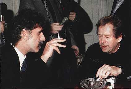 Frank Zappa-Vaclav Havel-Chaitali Aggarwal-Ravi V Chhabra-fnbworld