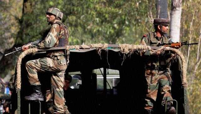 Indian soldiers ready to attack in PoK - HT Photo