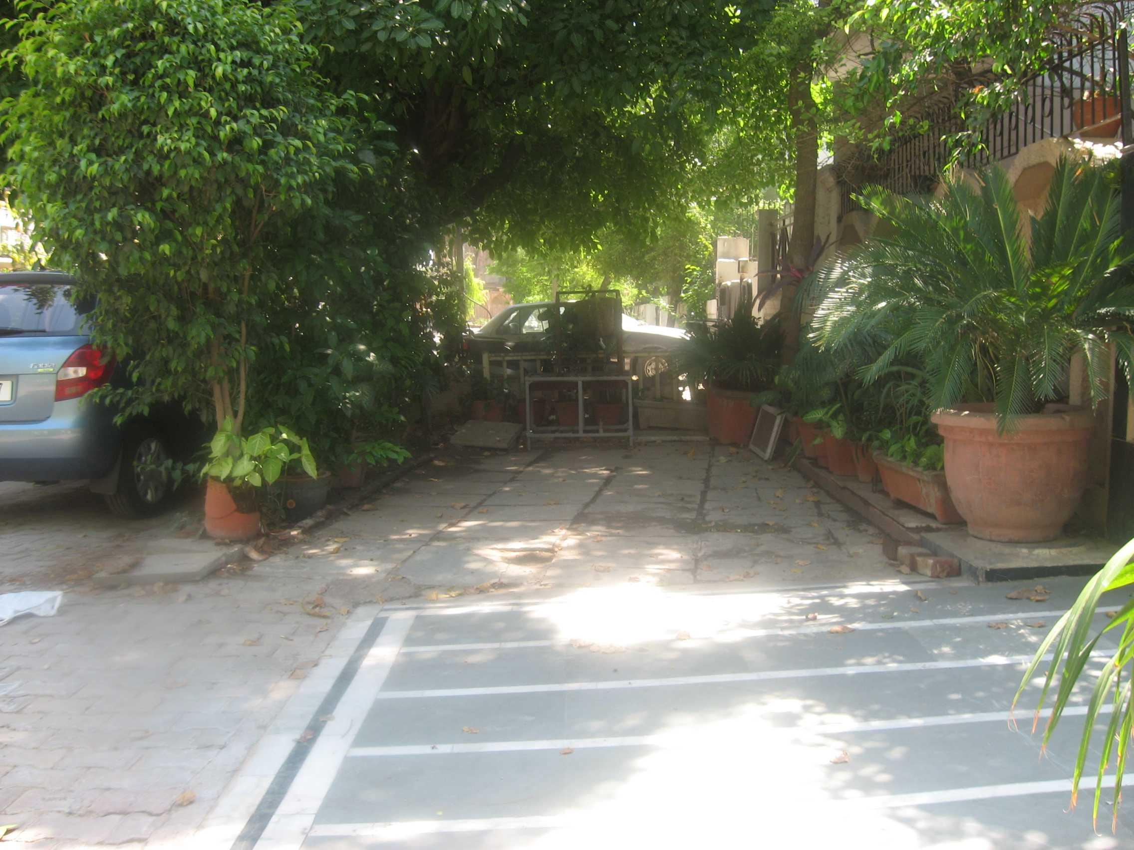 Hijacked  Public  Footpath by Anil Sachdeva