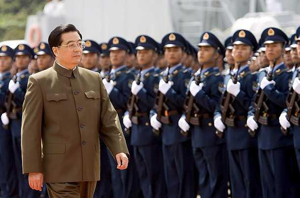 China's  Superman Hu Jin Tao